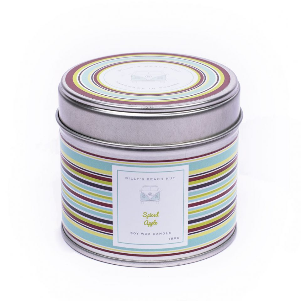 Spiced Apple Classic Candle Tin