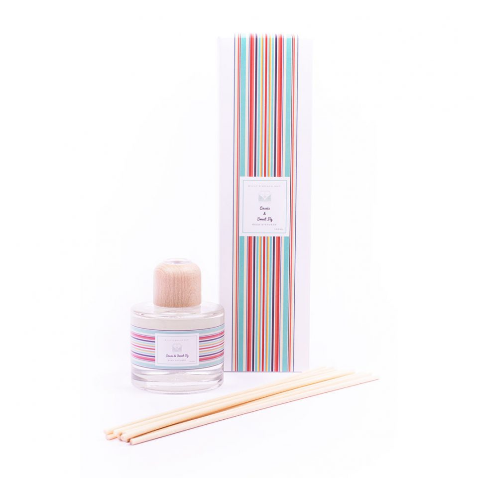 Cassis and Sweet Fig Classic Reed Diffuser