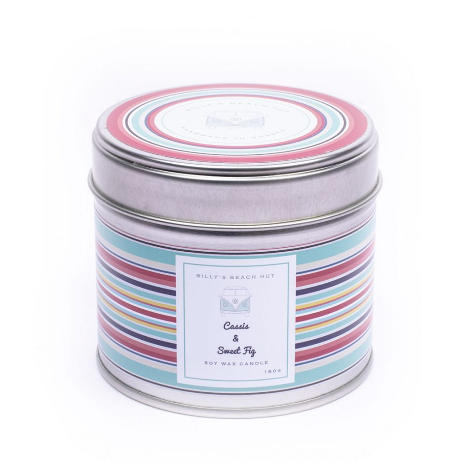 Cassis and Sweet Fig Classic Candle Tin