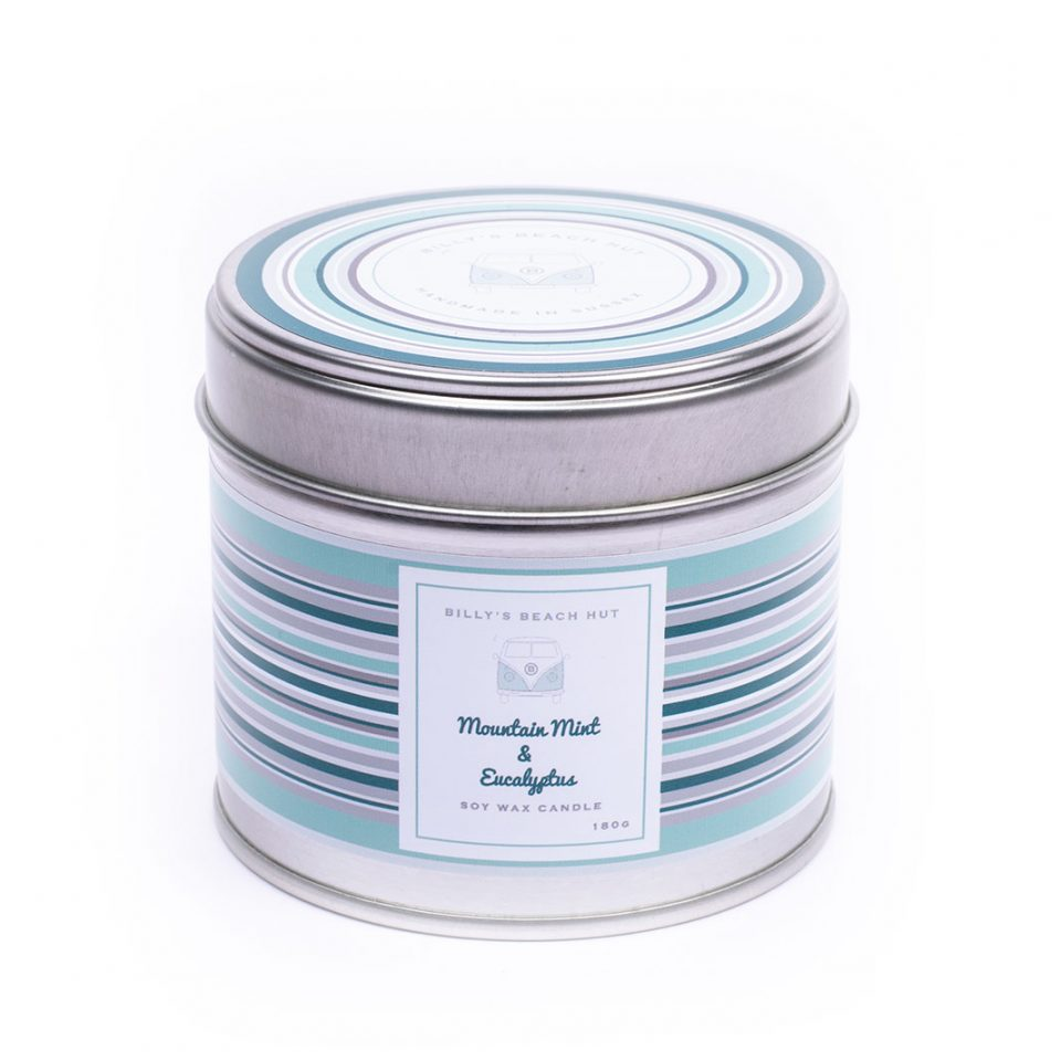 Mountain Mint & Eucalyptus Classic Candle Tin