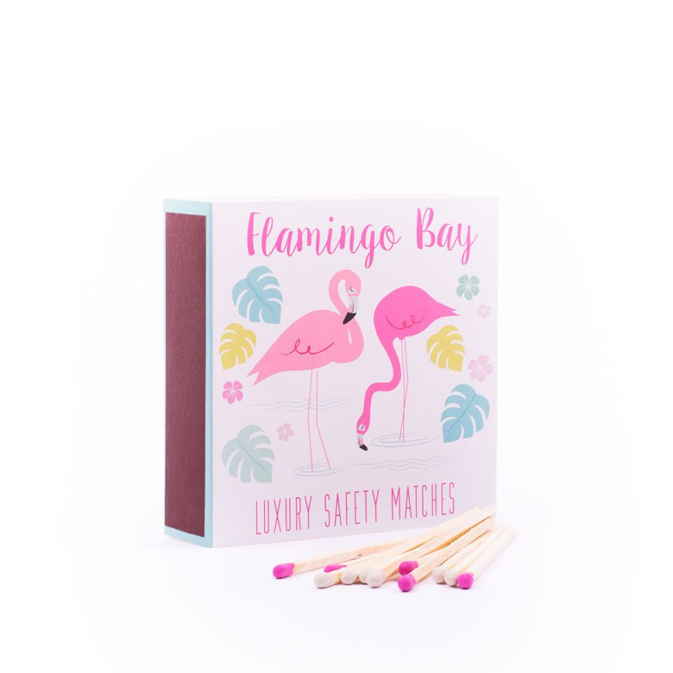 Flamingo Bay Safety Matches