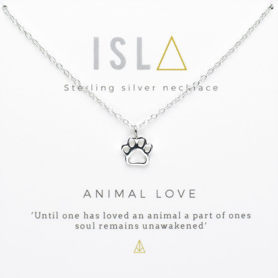 Animal Love Sterling Silver Necklace