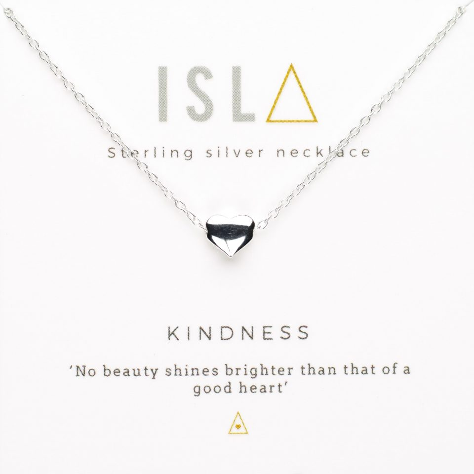 Kindness Sterling Silver Necklace
