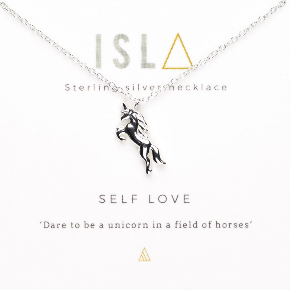 Self Love Sterling Silver Necklace