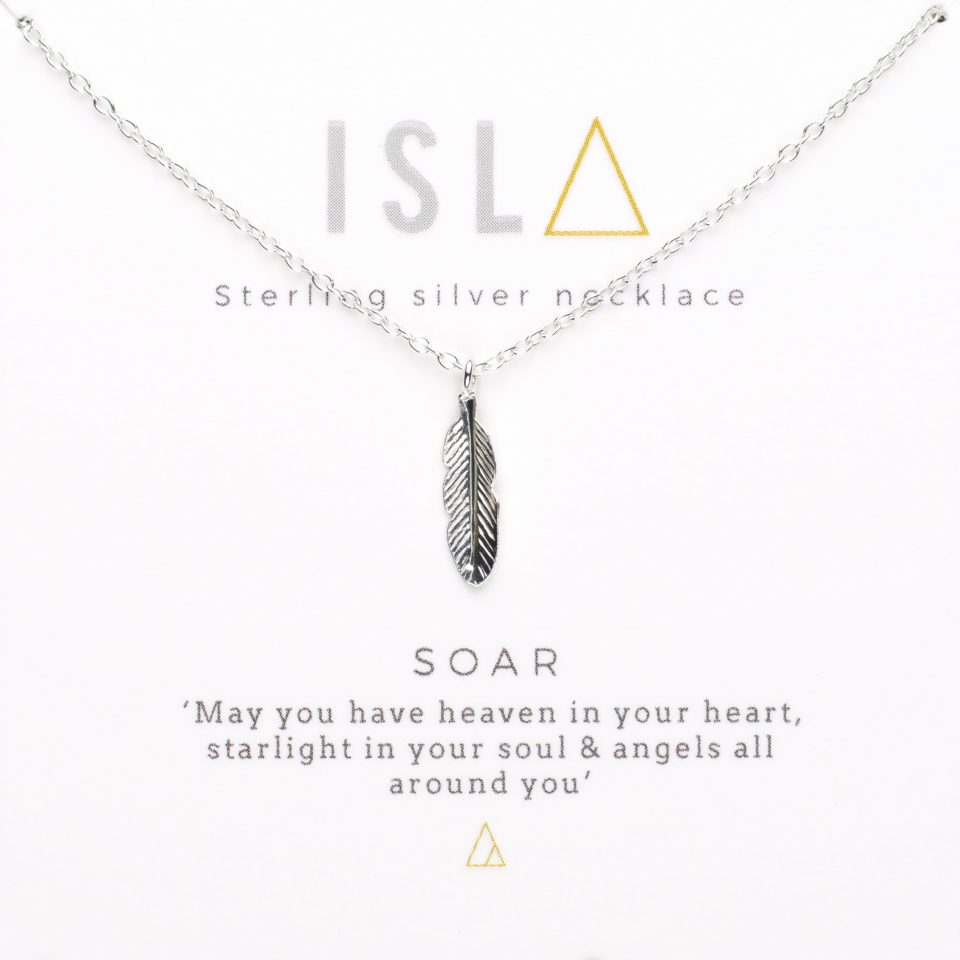 Soar Sterling Silver Necklace
