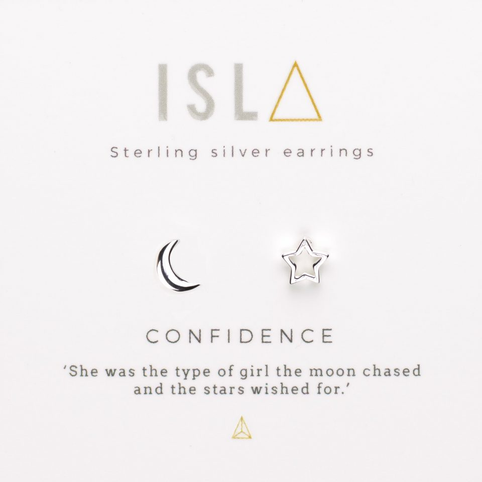 Confidence Sterling Silver Earrings