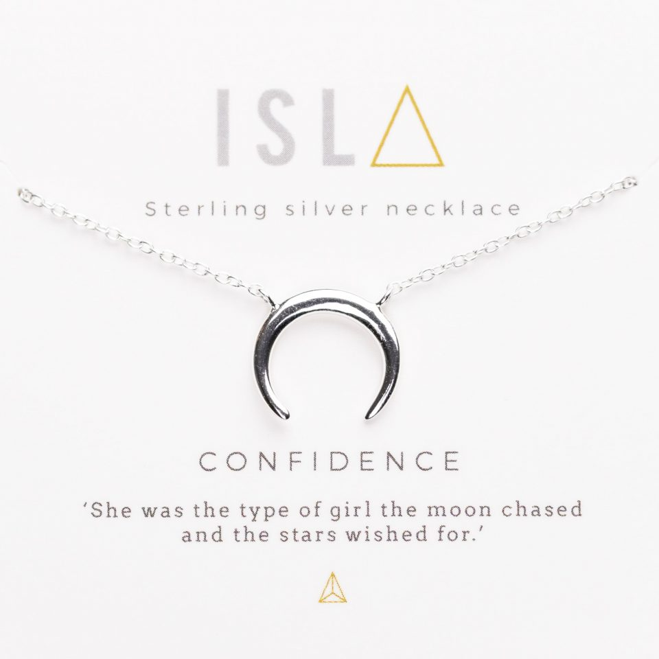 Confidence Sterling Silver Necklace