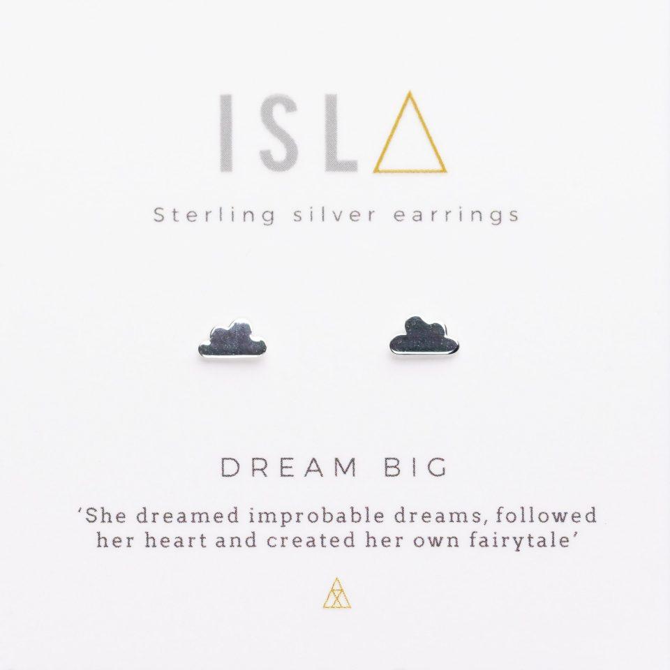 Dream Big Sterling Silver Earrings