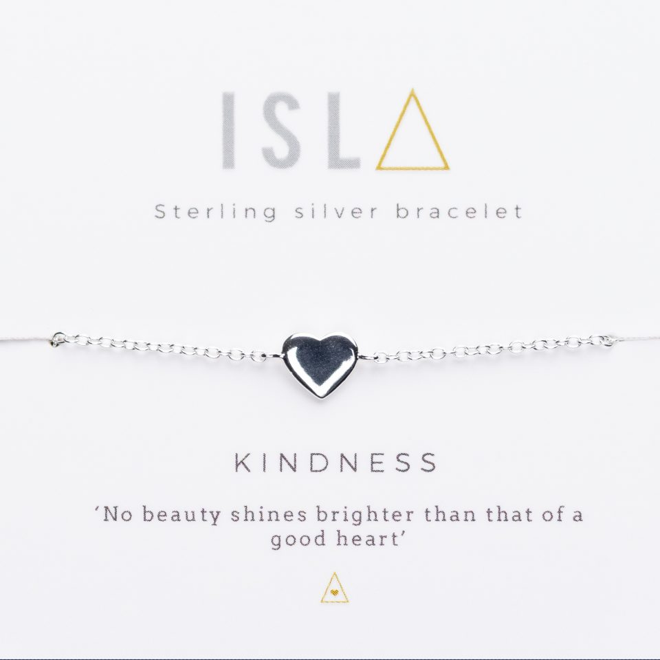 Kindness Sterling Silver Bracelet