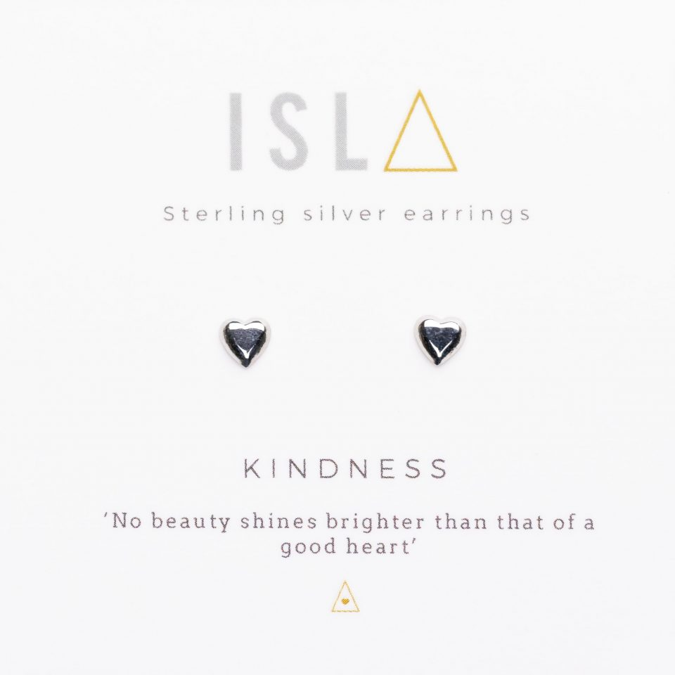 Kindness Sterling Silver Earrings