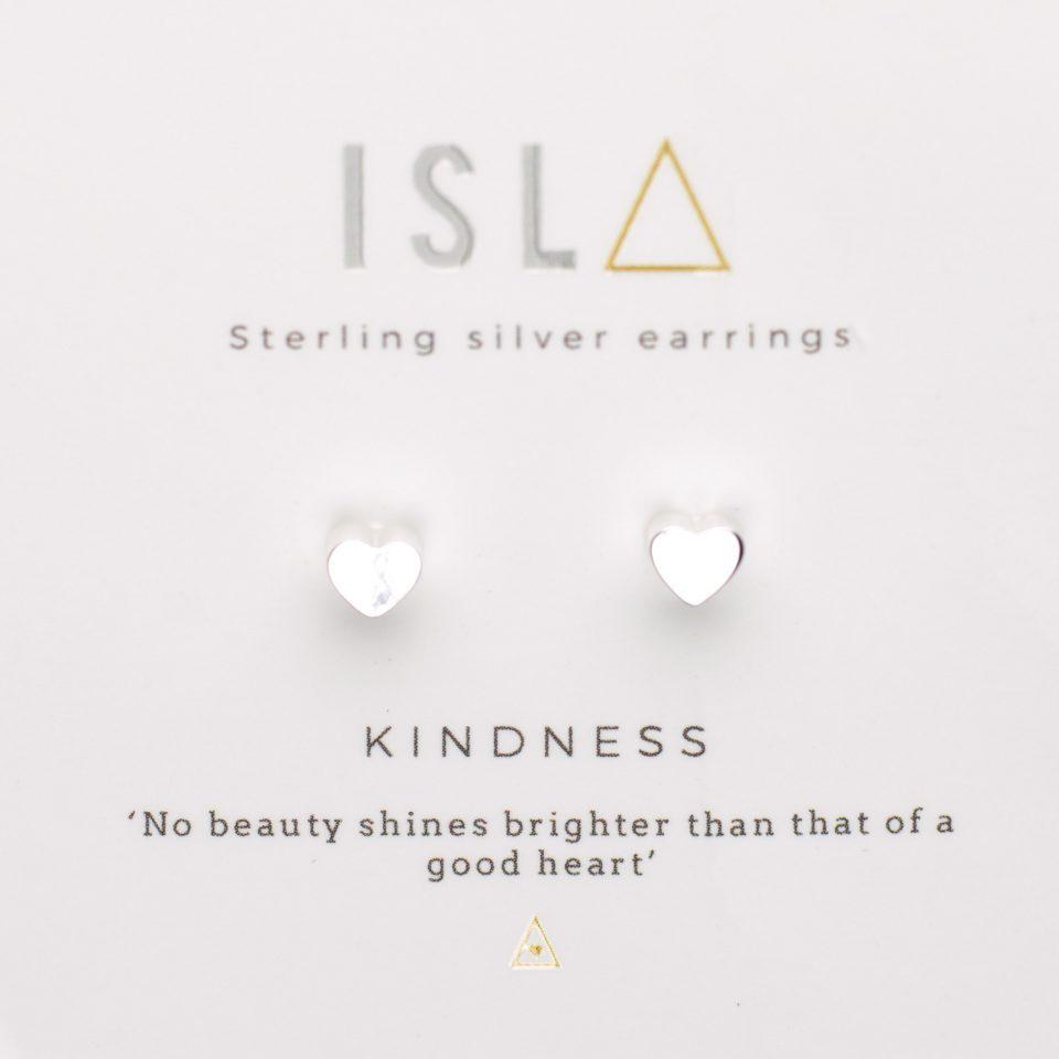 Kindness Sterling Silver Earrings