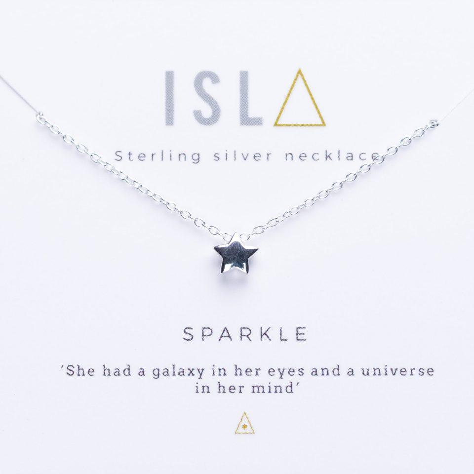 Sparkle Sterling Silver Necklace