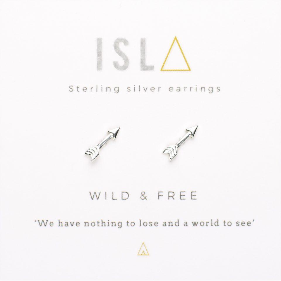 Wild & Free Sterling Silver Earrings